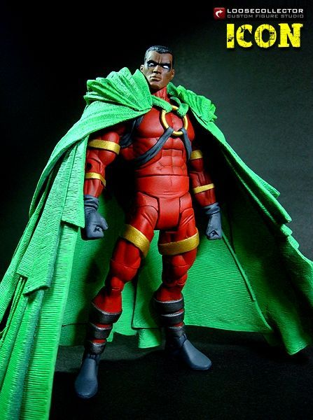 superheroesincolor:  Icon Custom Action Figure by loosecollector(Hat tip to oppositeoffaith for letting me know)