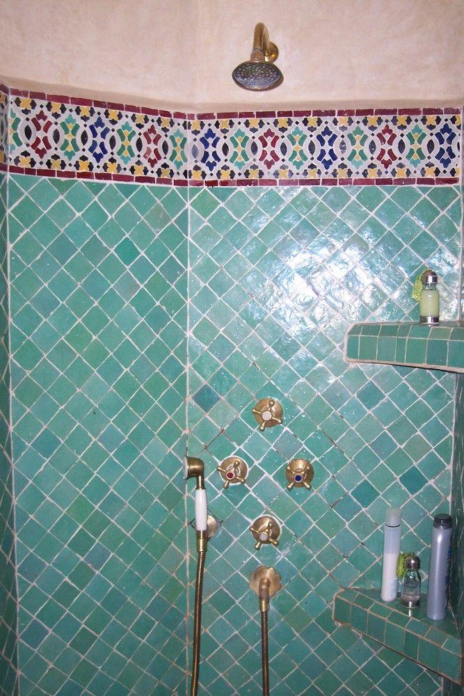 faience zellige salle de bain maroc décoration orientale | déco ...