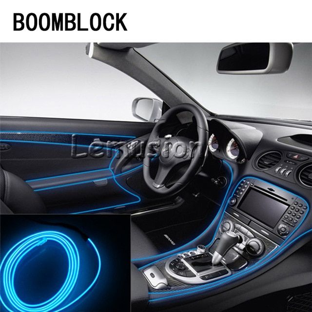 Car Led Cold Light Strips Neon Lamps For Mercedes Benz W204 W203