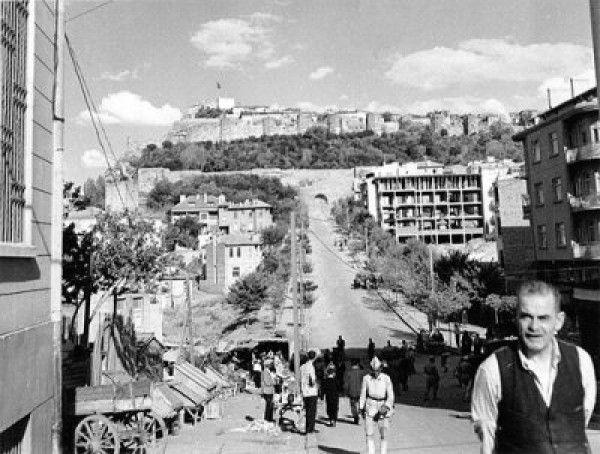 Ankara Kalesi 1945 Eski Ankara Fotoğrafları 1