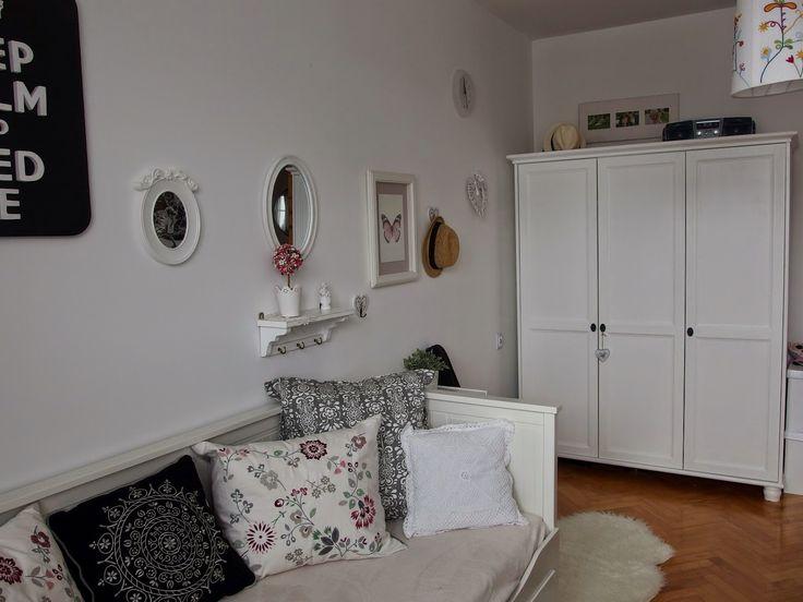 Szafa Aleksandry: Poprawki w pokoju mojej nastolatki Meble malowane na biało cd