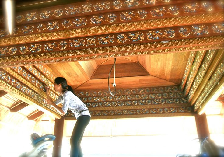 Balinese Joglo Roof
