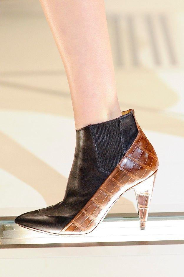 Balenciaga A/W 2012/2013 #Accessories #Boots #Shoes #Crocodile #Accesorios #Zapatos #Botines #Cocodrilo #Tendencias #Moda