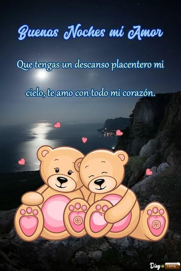 Pin De Jeison En Fraces Buenas Noches Amor Mio Buenas Noches Quotes De Amor