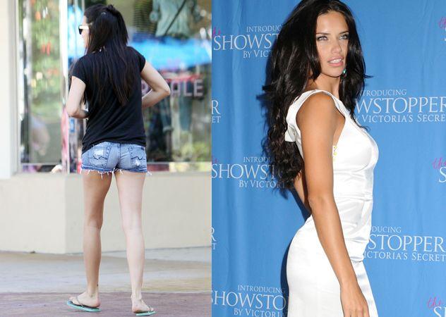 Adriana Lima, bellissima modella alta 178 centimetri e dalle mitiche misure 88-60-89, per le strade di Miami sembra una ragazza qualsiasi e non ricorda affatto la bomba sexy di Victoria's Secret! (c) Foto: kikapress.com