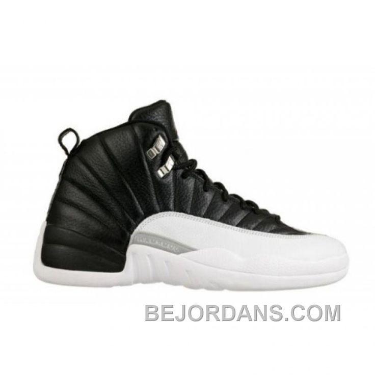 Big Discount Air Jordan 12 Playoffs Black White Varsity Red 130690-001 DyRff