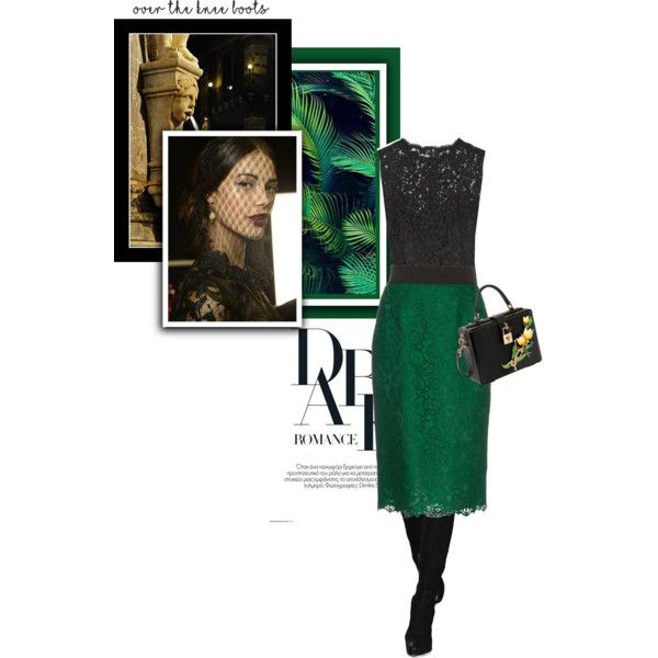 Maria-Teresa by theitalianglam on Polyvore featuring мода, Dolce&Gabbana, Boots, dolcegabbana, mariateresa and adolcegabbanastory