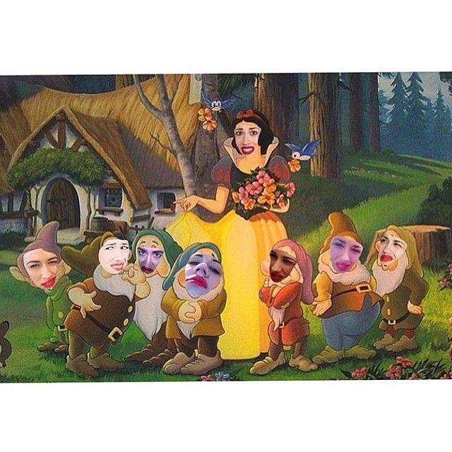 Miranda Sings is Snow White & the Seven Dwarves! LOL!