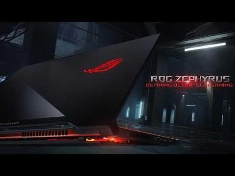 ASUS anuncia el notebook gamer más delgado del mundo