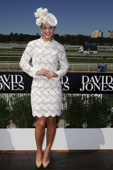 Emma Freedman Pictures - Celebrities Attend AJC Australian Derby Day - Zimbio