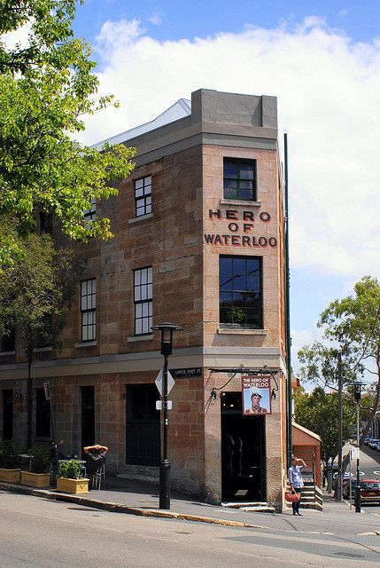 Hero Of Waterloo - The Rocks, Sydney by gecko47, NSW Australia