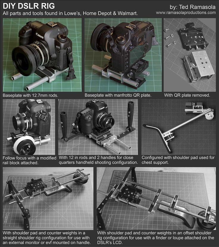 Diy Dslr Camera Rig: 43 Best Images About Camera On Pinterest