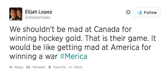 This noble realization: | The 26 Most American Comebacks In The History Of The World