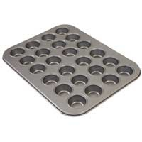 Mini Muffin Pan    $24.99    Not just for muffins! Also ideal for appetizers and hors d'oeuvres. Durable carbon steel distributes heat evenly and nonstick Eclipse® coating ensures easy release and cleaning.