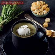 Rokfor peynirli kereviz sapı çorbası #ÇorbaTarifleri #kerevizsapıçorbasıoktayusta