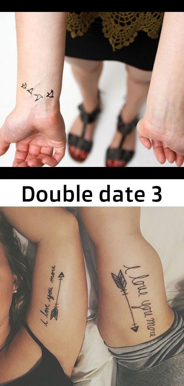 Doppelter Termin 3 Tattoos Doppelter Tattoos Termin Datum Tattoo Tattoos Kleeblatt Tattoo
