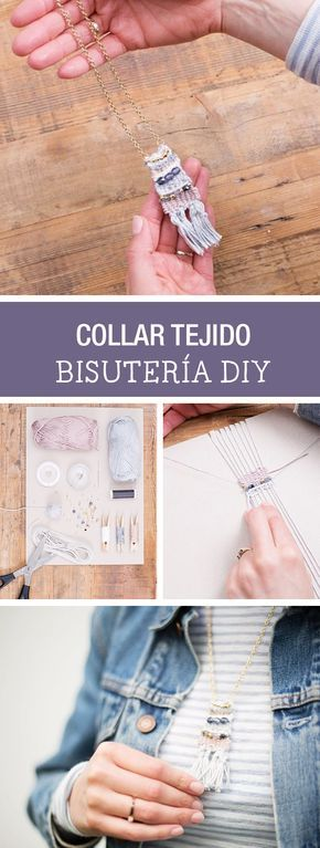 Tutorial DIY - CÓMO HACER UN COLLAR TEJIDO CON CUENTAS en DaWanda.es