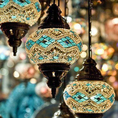 Morrocan lighting, inside or out.. stunning!