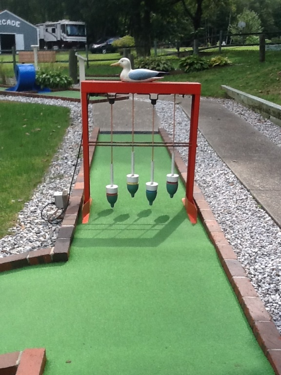 Home Made Mini Golf Course   Bing Images | Church | Pinterest | Golf, Yard  Games And Outdoor Games