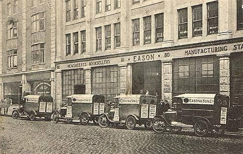 Eason's Book Store, O'Connell Street