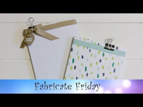 Naturally Eclectic Paper Pad featuring Stampin' Up!® Products - YouTube