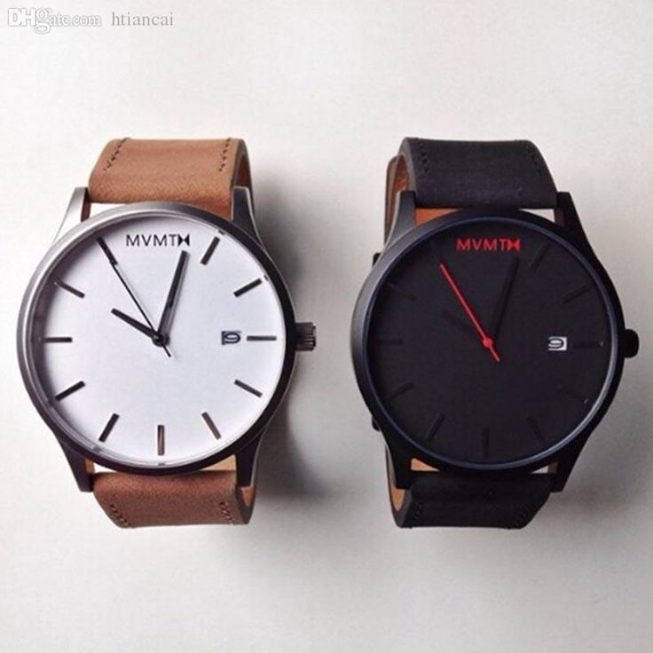 Wholesale Mvmt Men Watches Current Stainless Leather Strap Quartz Watch Auto Date Casual Fashion Wholesale High Quality Simple Style Wrist Watches For Sale Buy Watches From Htiancai, $27.29  Dhgate.Com