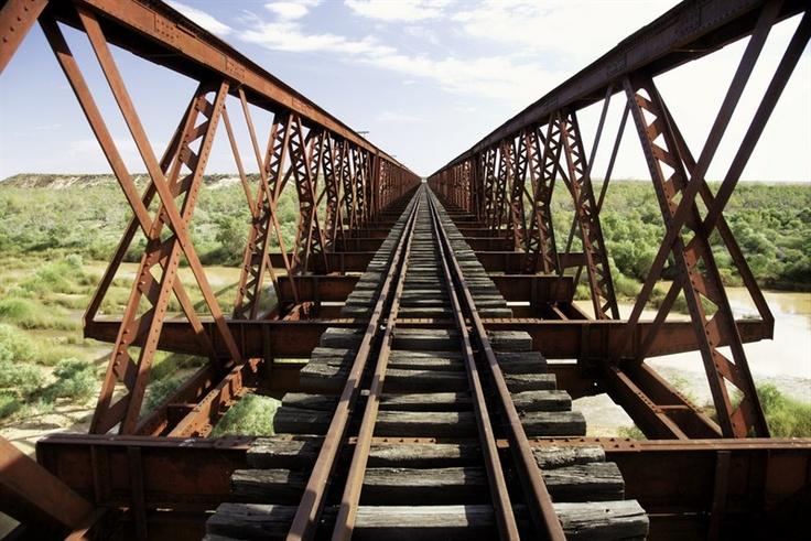 Algebuckina Bridge, Old Ghan Railway