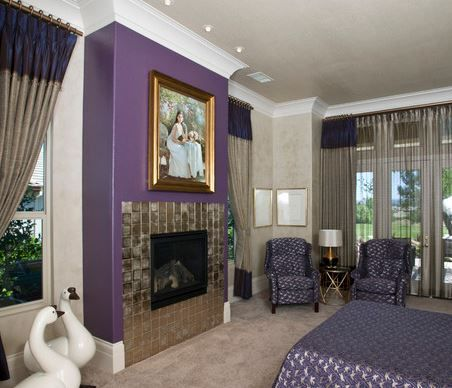 67 best Fireplace Interiors: Purple and Pink images on Pinterest ...