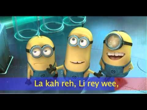 MINIONS - I Swear - Despicable Me 2 (Subtitled LYRICS) - YouTube press play to listen to the sweetest song ever
