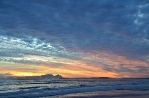 Blue-ish Sunset, Strand     Copyright: Hentie Mostert