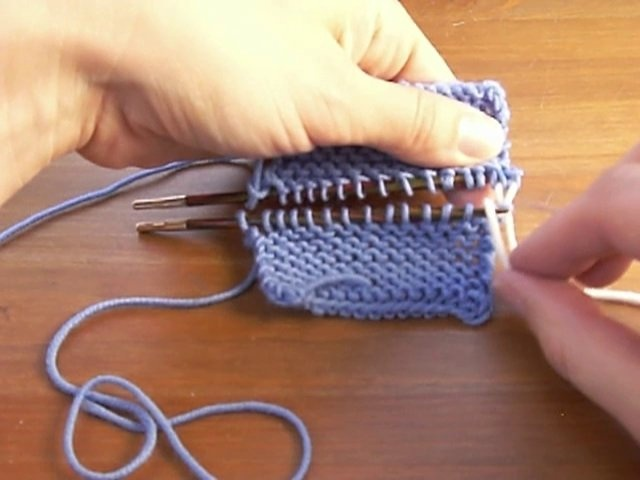 Knitting Grafting Garter Stitch : Best images about agujas on pinterest cable how