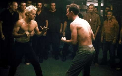 an analysis of the archetypal paradigm in the film fight club Edward norton's character disabled the bomb in the end when he gets into a fist fight with brad pitt or maybe up my theory tyler durden had of the movie.