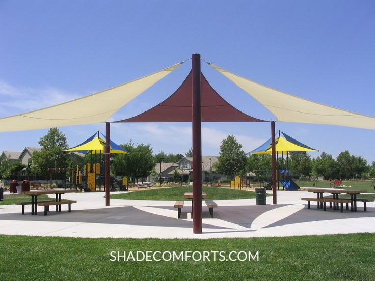Food Truck Parks With Shade Structures