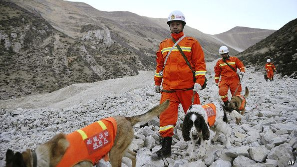 Mining in Tibet: The price of gold | The Economist