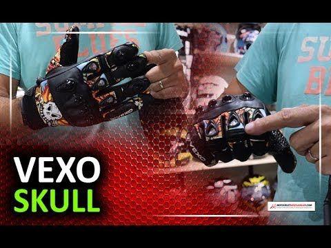 Uygun fiyatlı, Vexo Skull Yazlık Eldiven