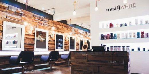 Nashwhite Hairdressing. Interiors!