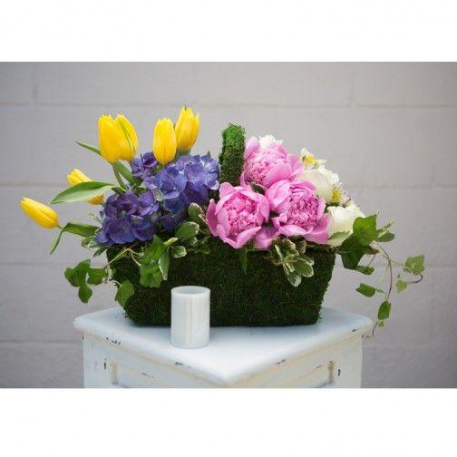 Colorful Fresh Mix Metro New Orleans flower delivery http://villeresflorist.com/ #Flowers #NewOrleans