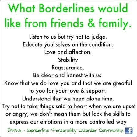 how to help a loved one with bpd