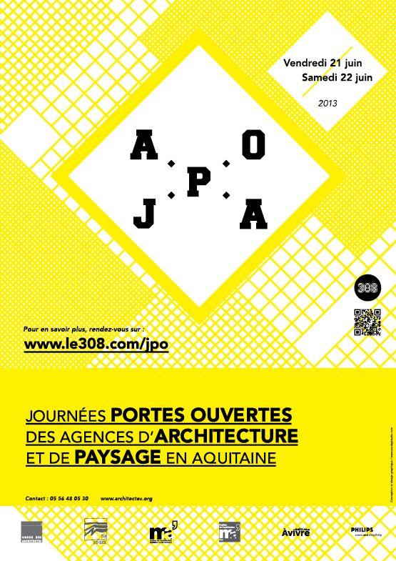 Journées Portes ouvertes des agences d'archirecture en Aquitaine. Du 21 au 22 juin 2013.