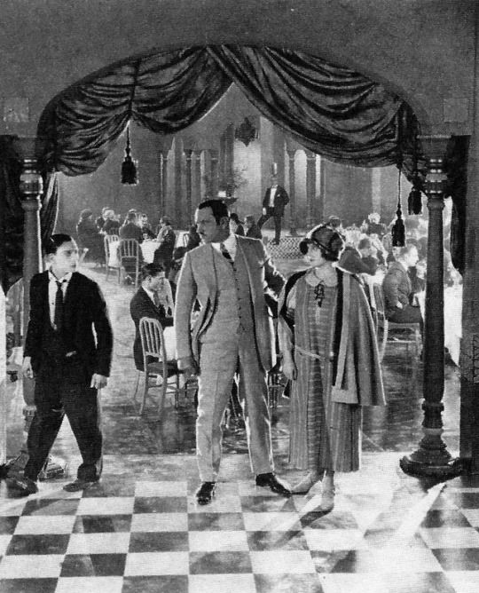 "Buster Keaton, Wallace Beery and Margaret Leahy in ""The Three Ages"" (1923)"