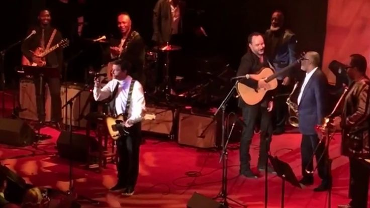 Michael J. Fox w/ Dave Matthews, Steve Jordan & Super Bowl Banned. You can find out more about Michael J. Fox's foundation for Parkinson's research at this w...
