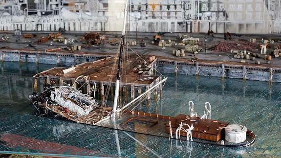Las Terrazas del Ferry rememoran la explosión del Machichaco