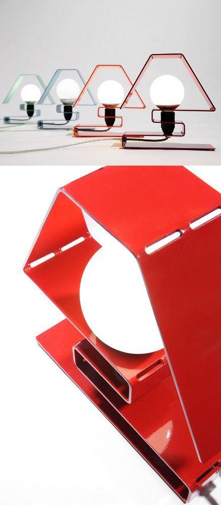Aluminium table #lamp ICON X by ZAVA | #design Massimo Rosati @ZAVA