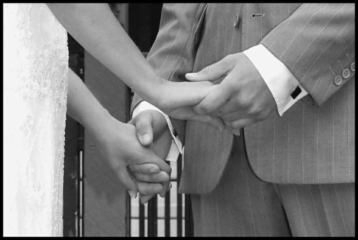 Wedding photo idea. #hands #wedding #love