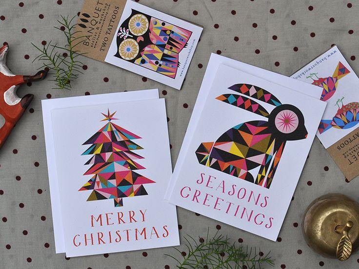 cute multicolour cards