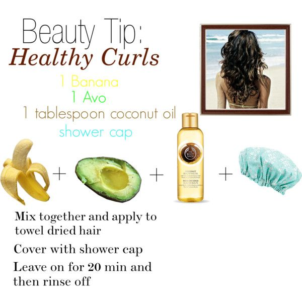 Healthy Summer Curls by cchristi on Polyvore featuring косметика, Liberty, The Body Shop, DIY, beautytips and hair