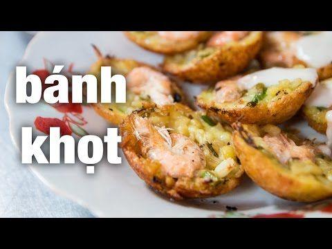 """Vietnamese Street Food - Extremely Tasty """"Banh Khot!"""""""
