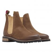 Joules Clarendon Leather Chelsea Boot , Brown, UK6
