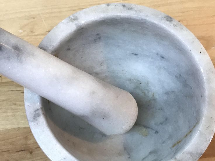 A personal favorite from my Etsy shop https://www.etsy.com/listing/535109427/apothecary-marble-mortar-and-pestle-set