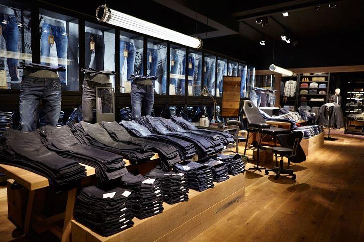 JACK & JONES, inside store, jeans, visual merchandising, product display